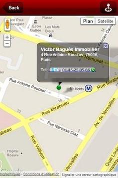 V. Baguès Immobilier apk screenshot