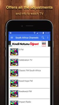TV South Africa Channel Data poster