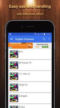 TV South Africa Channel Data apk screenshot