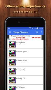 TV Telugu Channel Data poster