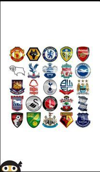 English Football Logos poster