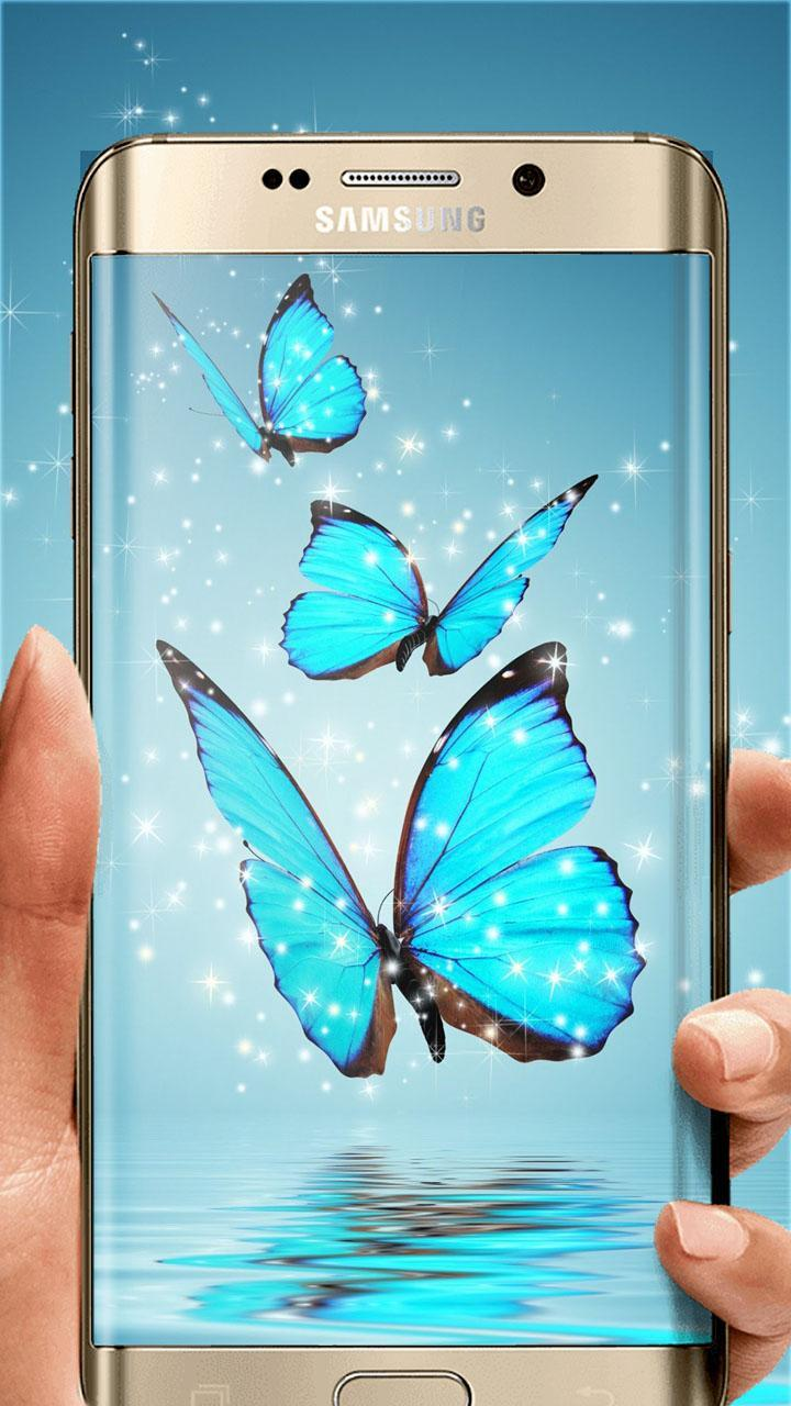 Blue Butterfly Wallpapers Hd Live Background Hd For Android