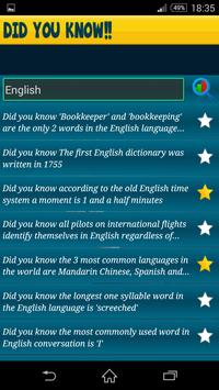 Did You Know? Amazing Facts apk screenshot