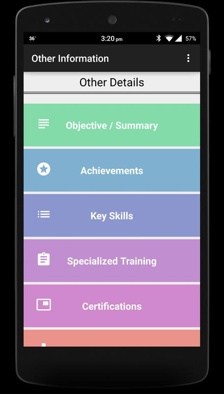 M-CV / Resume Maker APK Download - Free Tools APP for Android ...