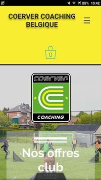 Coerver Belgique poster