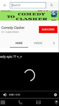 Comedy Clasher YT poster