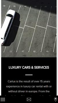 Carlux and Services poster