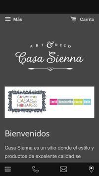 Casa Sienna poster