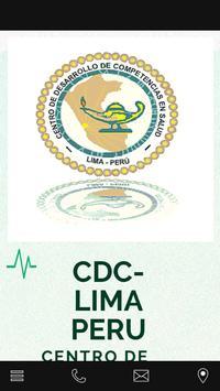 CDCLIMAPERU poster