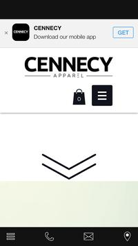 CENNECY Apparel poster