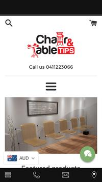 Chair Tips Australia Portable poster