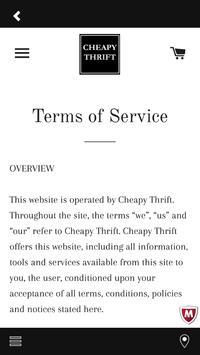 Cheapy Thrift apk screenshot