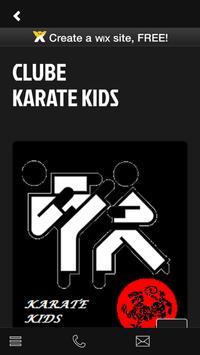 Clube Karate Kids apk screenshot