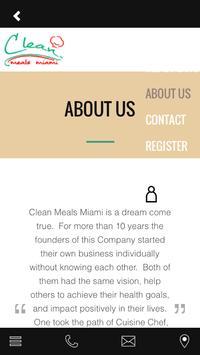 Clean Meals Miami apk screenshot