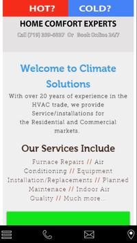 Climate Solutions llc poster
