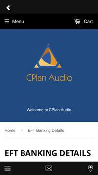 CPlan Audio Store screenshot 1