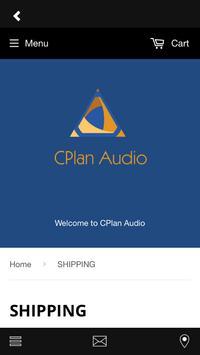 CPlan Audio Store screenshot 2