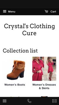 Crystal's Clothing Cure poster