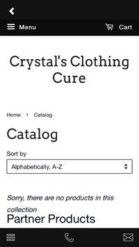 Crystal's Clothing Cure screenshot 2