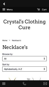 Crystal's Clothing Cure screenshot 4