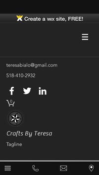crafts by teresa poster