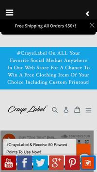 Craye Label poster