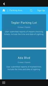 CUE Parking screenshot 1