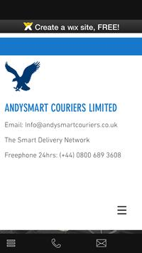 Andysmart Couriers poster
