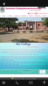 Angul Goverment College screenshot 1