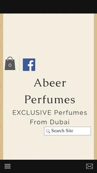 Abeer Perfumes poster