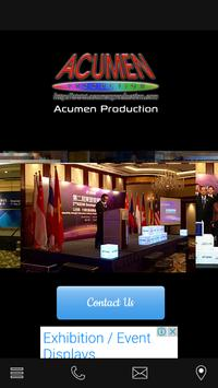 Acumen Production poster