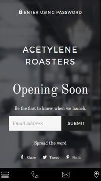 Acetylene Roasters poster