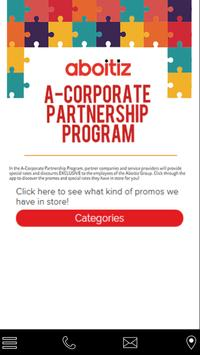 A Corporate Partnerships poster