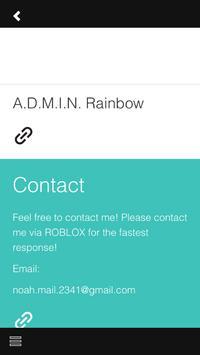 ADMIN RAINBOW apk screenshot