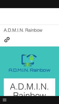 ADMIN RAINBOW poster