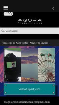 AGORA Producciones screenshot 2