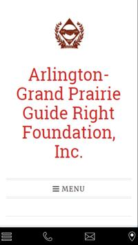 AGP Guide Right Foundation poster