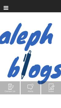 aleph blogs apk screenshot