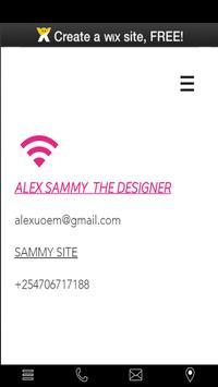 ALEX THE DESIGNER poster
