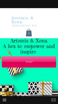 Artemis and Xena Sisterhood poster