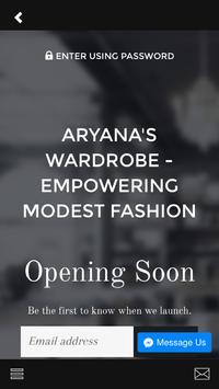 Aryana's Wardrobe screenshot 1