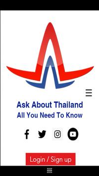 Ask About Thailand poster