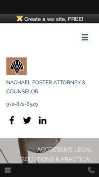 Attorney Nachael Foster poster