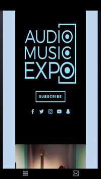 Audio Music Expo poster