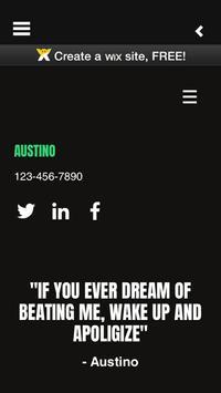 Austino poster