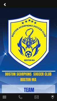 Boston Scorpions Soccer Club apk screenshot