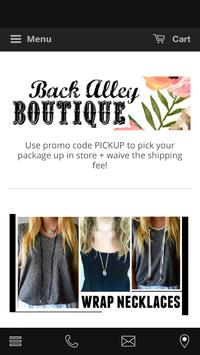 Back Alley Boutique poster