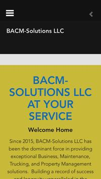 BACM SOLUTIONS poster