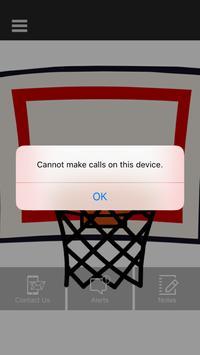 Basketball Fan Site screenshot 1