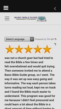 Basic Bible Guide apk screenshot